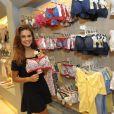 Paloma Bernardi é garota-propaganda da marca de lingerie Liebe