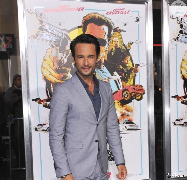 Rodrigo Santoro (visto aqui no lançamento de 'O Último Desafio' em Los Angeles, em janeiro de 2013) rodará filme com Natalie Portman, informou site em 5 de fevereiro de 2013