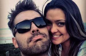 Polliana Aleixo vive romance com o músico Renato Beltrão e se declara: 'Te amo'