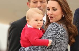 Kate Middleton e príncipe William agradecem aos súditos pelo carinho com George