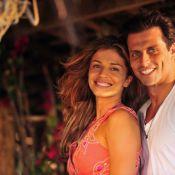 Em 'Flor do Caribe', Grazi Massafera e Henri Castelli vivem casal apaixonado