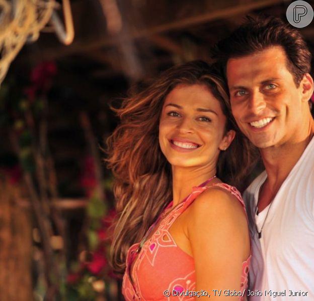 Grazi Massafera e Henri Castelli formam o par romântico protagonista de 'Flor do Caribe', próxima novela das seis da Globo, que estreia em março de 2013