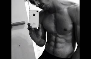 Fiuk sobre os músculos que vem ganhando: 'Cansei de ser magrelo'