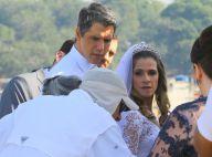 Vestidos de noivos, Ingrid Guimarães e Márcio Garcia filmam 'Loucas para Casar'