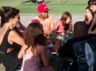 Juliana Paes brinca na festa do afilhado após voltar da França: 'Zoamos tudo'
