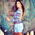 Feliz com seu corpo, Cristiana Oliveira garante: 'Não quero bancar a menininha'