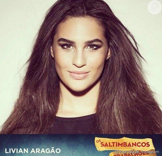 Lívian Aragão vai participar do espetáculo 'Os Saltimbancos Trapalhões' em setembro de 2014