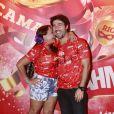 Susana Vieira declarou no camarote da Brahma que pretende se casar ainda este ano com Sandro Pedroso