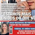 Grazi Massafera ganha destaque na capa da revista portuguesa 'Lux'