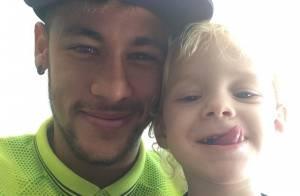 Davi Lucca, filho do jogador de futebol Neymar Jr., completa 3 anos. Veja fotos!