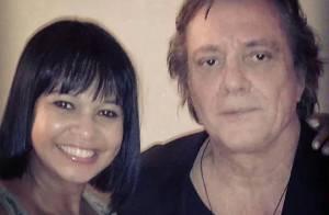 Namorada de Roberto Carlos tira foto com Fábio Jr. e gera ciúme no cantor