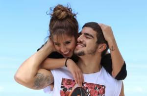 Camilla Camargo sobre sexo com Caio Castro em filme: 'A cena é forte'