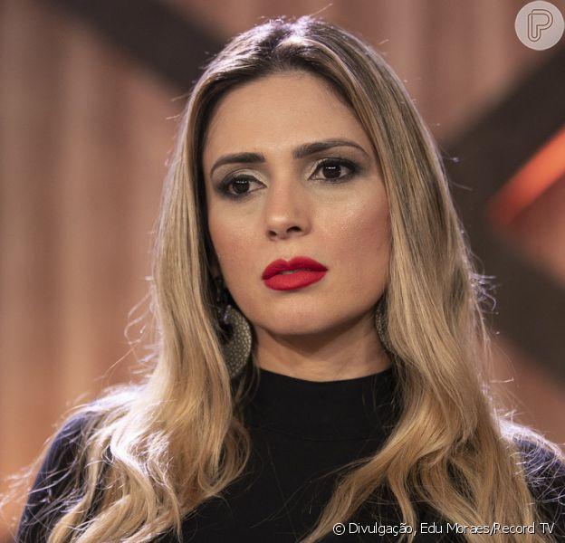 Nadja Pessoa foi expulsa de 'A Fazenda 10' após agressão contra Caique Aguiar nesta terça-feira, 6 de novembro de 2018