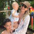 Eliana comemorou que os filhos, Arthur e Manuela, possuem uma boa relação