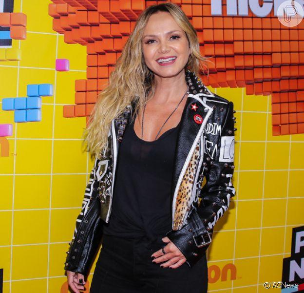 Eliana prestigia Meus Prêmios Nick 2018, na casa de espetáculos Credicar Hall, em São Paulo, na noite desta quarta-feira, 7 de novembro de 2018