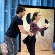 O próximo ritmo de Juliana Paiva é o rock e a atriz começou a ensaiar nesta quarta-feira, 3 de setembro de 2014