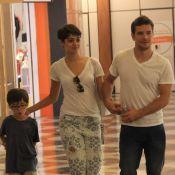 Sophie Charlotte curte passeio com Daniel de Oliveira e o filho do ator Raul