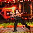 Lucélia Santos participa do 'Dança dos Famosos', no 'Domingão do Faustão'