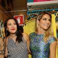 Giovanna Ewbank se diverte com Juliana Knust e Zeca Pagodinho em evento no Rio, nesta quinta-feira 4 de setembro de 2014