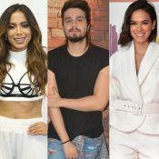 Luan Santana revela já ter ficado com Bruna Marquezine e Anitta: 'Algumas vezes'