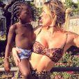 'Eu já tive problema com corpo, cabelo, peito, nariz, mas hoje sou muito feliz', afirmou  Giovanna Ewbank