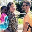 Giovanna Ewbank disse que se tornou mais segura e autoconfiante após a chegada da filha, Títi
