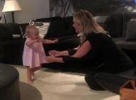 Eliana comemora primeiros passos da filha, Manuela: 'Andou sozinha'. Vídeo!