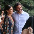 Fátima Bernardes e Túlio Gadêlha posaram para fotos