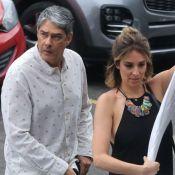 William Bonner vai com a mulher a evento de dança de Fátima Bernardes. Fotos!