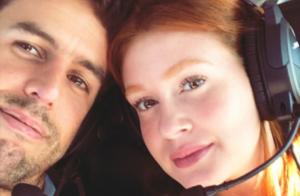 Marido acompanha Marina Ruy Barbosa em dia de trabalho: 'Me apoia sempre'