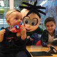 Filhos de Eliana, Arthur e Manuela esbanjaram fofura em foto na web