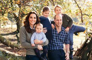 Sorriso de Louis, de 7 meses, encanta em cartão de Natal da família real. Foto!