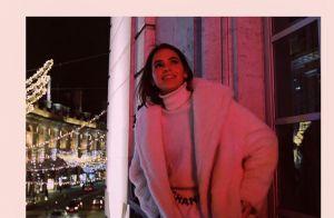 Look bicolor! Bruna Marquezine alia grifes em produção p&b em Londres. Fotos!