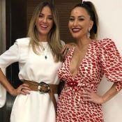 Ticiane Pinheiro elogia corpo de Sabrina Sato pós-gravidez: 'Melhor do que era'