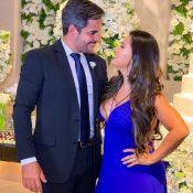 Simone, com look decotado, vai a casamento com marido: 'Meu grande amor'. Foto!