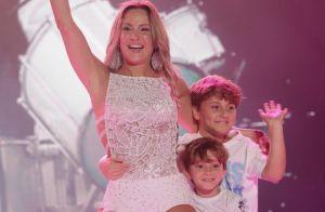Filhos de Claudia Leitte impressionam por semelhança com mãe em foto. Veja!