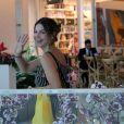 Isabelle Drummond e Sthefany Brito vão às compras no Village Mall, na Barra da Tijuca, zona oeste do Rio de Janeiro, nesta quarta-feira, 26 de dezembro de 2018