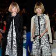 Anna Wintour, a temida editora da 'Vogue', não vê problema em usar a mesma roupa várias vezes. Repetir o look é chique!