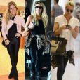 Giovanna Ewbank usa e abusa da calça preta em viagens. A peça funciona do aeroporto ao evento