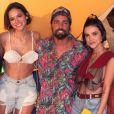 Bruna Marquezine esteve na festa Corona Sunsets, promovido pela Cavalheira, nesta sexta-feira, 28 de dezembro de 2018