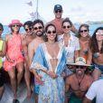 As influencers arrasaram com trends de beachwear no passeio de barco em Noronha