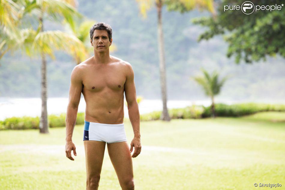 Márcio Garcia posa para campanha de sungas e mostra corpo sarado aos 44 anos. As fotos foram divulgadas nesta terça-feira, 16 de setembro de 2014