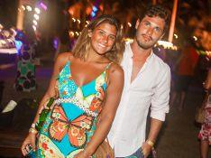 Giulia Costa elogia Philippe Correia e fãs comemoram: 'Felicidades ao casal!'