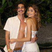 Sasha Meneghel dá beijo em namorado, Bruno Montaleone, em vídeo: 'Muito amor'