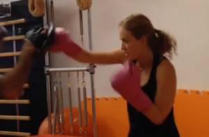 Angélica treina muay thai e personal brinca: 'Próxima contratada do UFC'