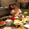 Adriana Sant'Anna e Rodrigão também aproveitaram momentos a dois na viagem a Orlando