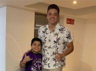 Wesley Safadão ganha companhia do filho Yhudy em show: 'Estourado'. Vídeo!