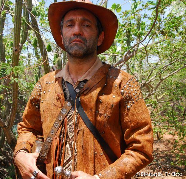 Domingos Montagner interpretou o Rei do Cangaço, Capitão Herculano, na novela 'Cordel Encantado'