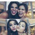 Bruna Marquezine parabeniza a irmã no dia do aniversário da caçula: 'Você vai sempre ser a minha melhor amiga', nesta sexta-feira, 19 de setembro de 2014