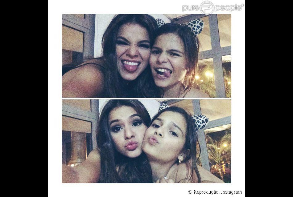 Bruna Marquezine Parabeniza Irmã No Instagram Sempre Será Minha